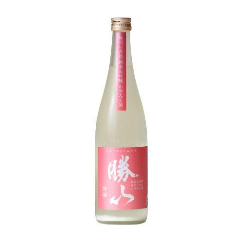 勝山 純米大吟醸 吟のいろは かすみ生酒 720ml
