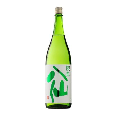陸奥八仙(むつはっせん)  緑ラベル 特別純米 ひやおろし 1800ml