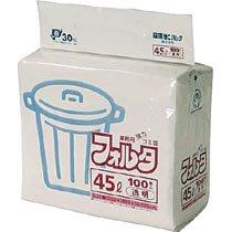 【在庫限り】<br>ゴミ袋フォルタ 45L透明