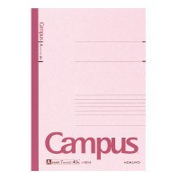 【在庫限り】<br>キャンパスノート A罫 セミB5 30枚