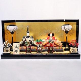 雛人形 小出松寿作 京10番 総刺繍鳳凰