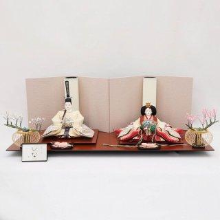 雛人形 清水久遊作 京10番 縫取り青海波