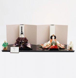 雛人形 清水久遊作 京10番 正絹切バメ