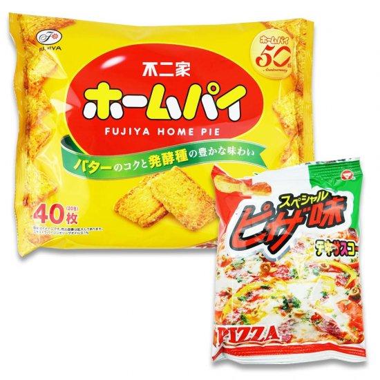 テキサスコーン(1個)(ピザ)  /  大袋(内1)ホームパイ 【学】