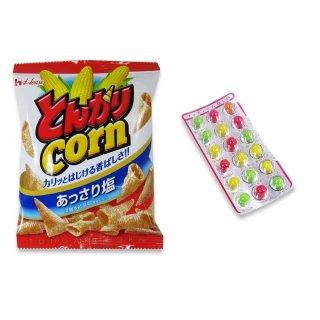 小袋とんがりコーン(1個)  /  プチプチ占いチョコ(1個) 【学】