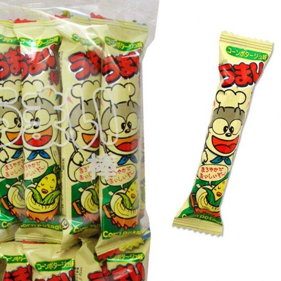 やおきん うまい棒 コーンポタージュ味(1個売)スナック菓子【学】【幼】