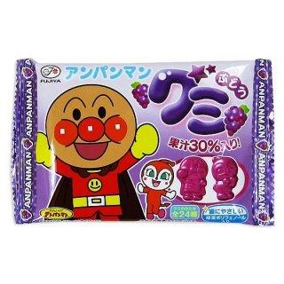 不二家 アンパンマングミ ぶどう味 (20個入)グミのお菓子【学】【幼】