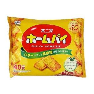 不二家 ホームパイ 大袋 (16袋入)ビスケット菓子【学】【幼】【介】