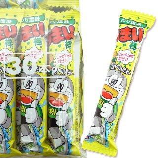 やおきん うまい棒 のり塩味( 30個入 )スナック菓子【学】