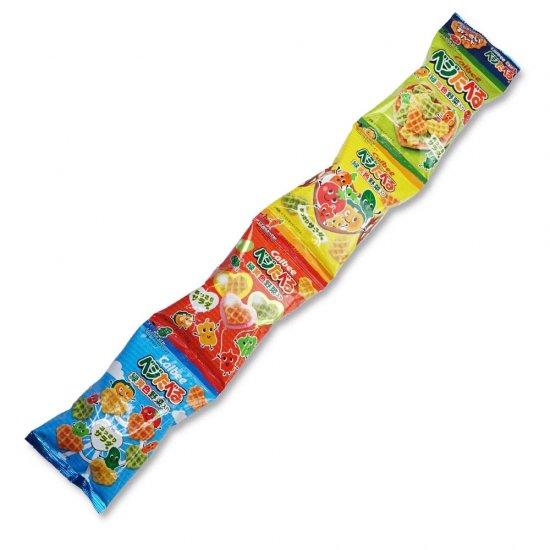 カルビー  ベジたべる 4P あっさりサラダ味(バラ売り)スナック菓子【学】【幼】