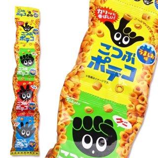 東ハト こつぶポテコ うましお味  4p(バラ売り)スナック菓子【学】【幼】