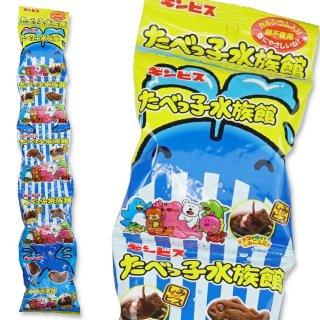 ギンビス たべっ子水族館 5P (12個入) チョコレート菓子【学】【幼】