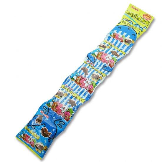 ギンビス たべっ子水族館 5P (バラ売り) チョコレート菓子【学】【幼】