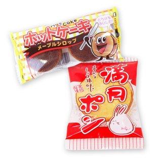 ホットケーキ(1個)  /  大袋(内1)うさぎ満月ポン【学】