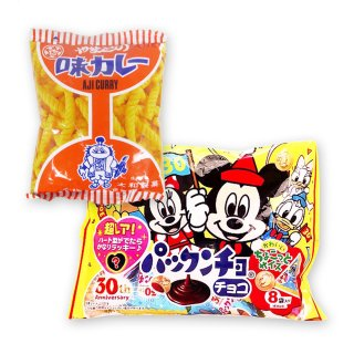 大袋(内1)パックンチョ  /  味カレー(1個)【学】