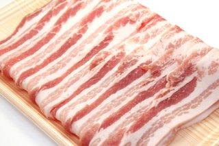JAうご産 豚肉 バラ肉スライス1kg 送料無料