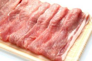 JAうご産 豚肉 モモ肉スライス1kg 送料無料