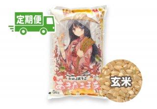 【お米の定期便】JAうご産あきたこまち 玄米