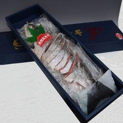 天然紅鮭姿切り(ロシア産)[化粧箱]