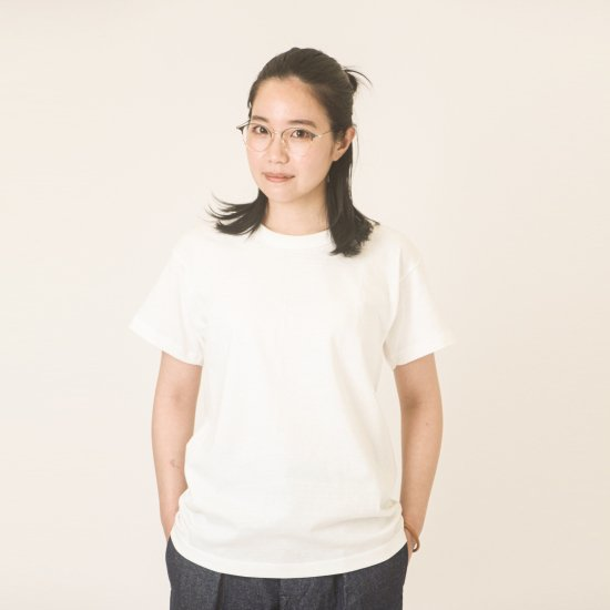 Short Sleeve Crew Tee White