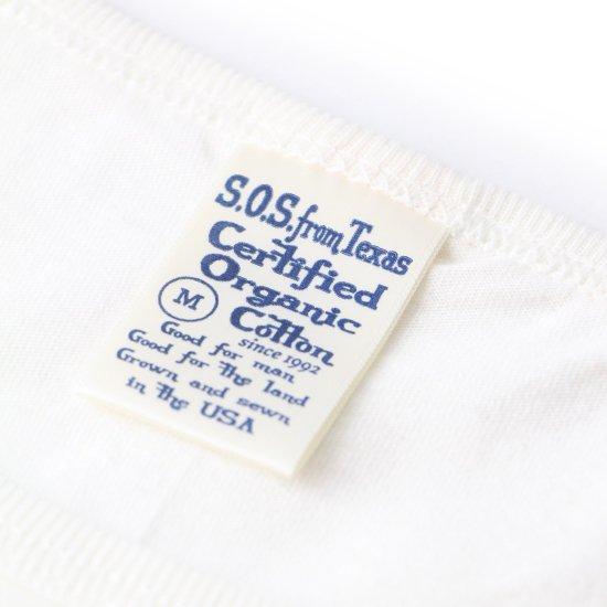 Short Sleeve Scoop Tee White