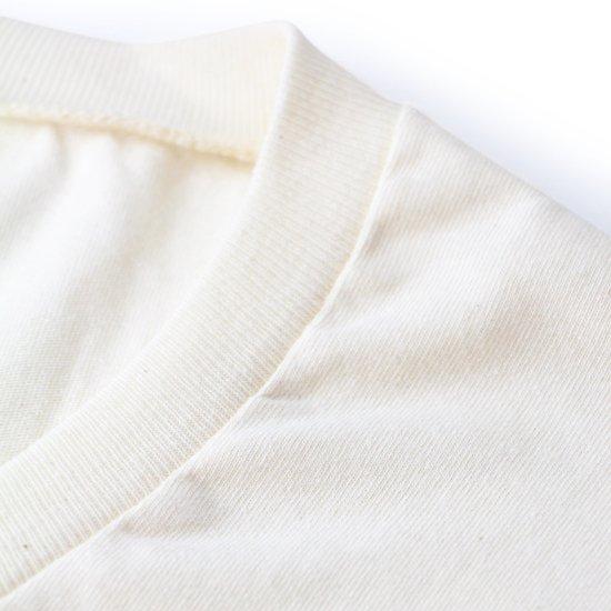 Short Sleeve V-Neck Tee Natural