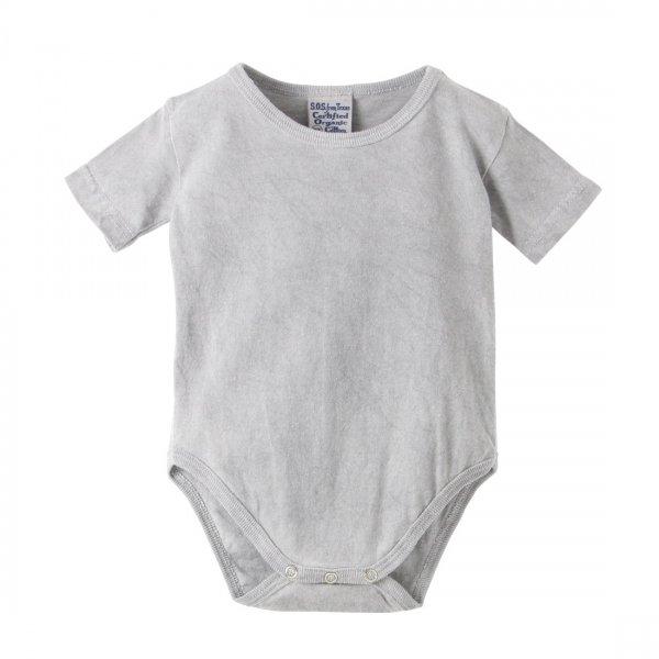 Hemp Charcoal Dyed Baby ROMPER