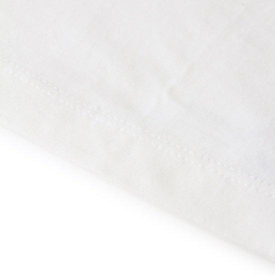 Short Sleeve Baby Tee White