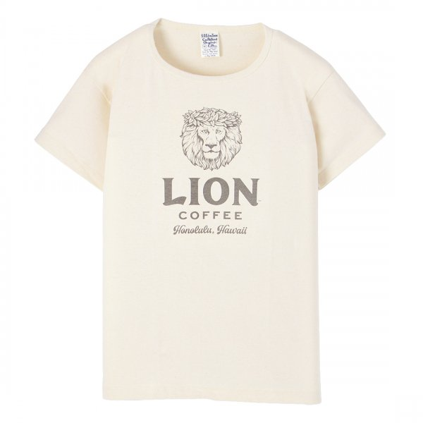 S.O.S. from Texas×LION COFFEE Short Sleeve Scoop Tee