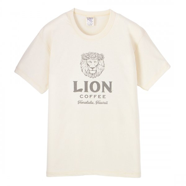 S.O.S. from Texas×LION COFFEE Short Sleeve Crew Tee
