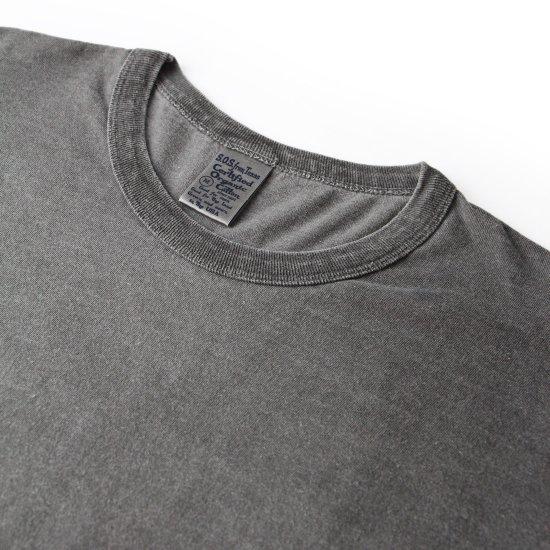 Hemp Charcoal Dyed Short Sleeve Crew Tee