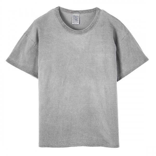 Hemp Charcoal Dyed Short Sleeve Crew Tee
