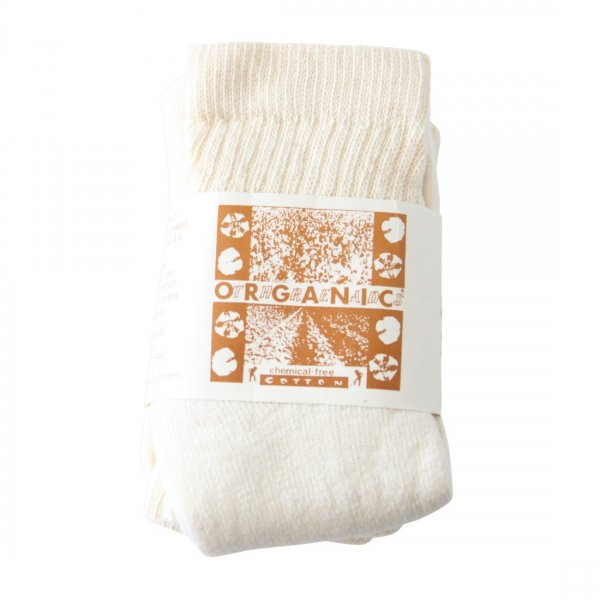 ORGANIC THREADS Short Top Crew 3Pack Cream