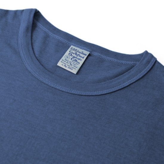 Ai Dyed Short Sleeve Crew Tee Navy