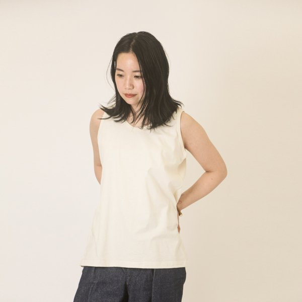 Lady's Tank Top Natural