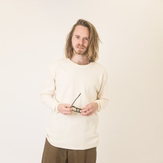 THERMAL Long Sleeve Crew Tee Natural