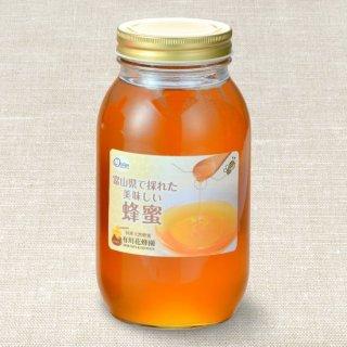 カラスザンショウ〈1kg〉(富山県で採れた美味しい蜂蜜)