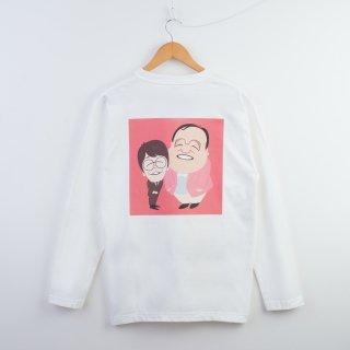 「ママタルトのラジオ母ちゃん」番組Tシャツ(長袖)