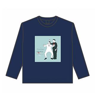 【予約販売】「錦鯉の人生五十年」番組Tシャツ(長袖/ネイビー)