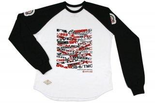 MOTO CORSE コンプリートバイク ヘリテージ ロングスリーブTシャツ
