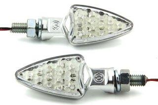 ビレット アルミニウム LED ブリンカーセット