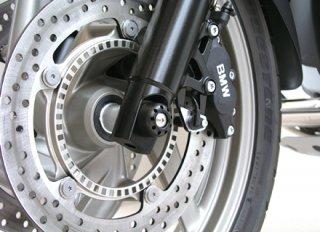 アクスルスライダー with チタニウム フロント for BMW R 1200 GS