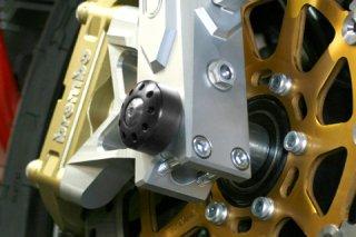 アクスルスライダー with チタニウム フロント for bimota DB7S / DB5 Mille / DB5R 1100 / DB5C 1100 / DB6S 1100 / DB6C