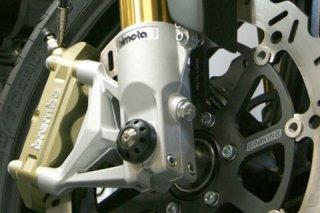 アクスルスライダー with チタニウム フロント for bimota DB6 1000 / DB6C 1080 / DB6 1100 / DB5 1100