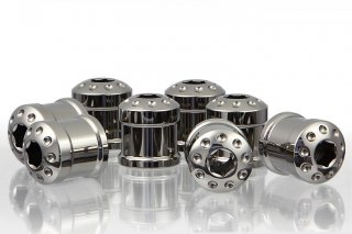 DBT Design チタニウム フレームプラグ セット 8 pcs for bimota DB5