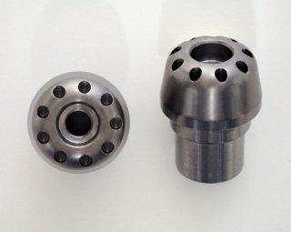 DBT Design チタニウム ハンドルバーエンドウェイト 2 pcs for MV AGUSTA F3 675 / F3 800