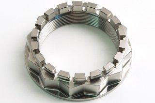 CNC ビレット チタニウムリアスプロケットハブナット