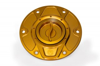CNC ビレット フューエルタンクキャップ クイックオープンタイプ for Ducati Multistrada 1260 / Multistrada 1200 / Hypermotard 950
