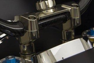 CNC ビレット アルミニウム ハンドルバーライザー