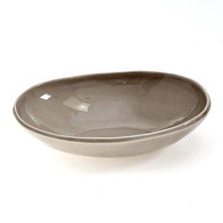 ベージュいっぷく楕円鉢S 16.6cm パン&スープ 業務用 g-1931-07